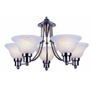 Trans Globe PL 6545 BN Payson   Five Light Mini Chandelier