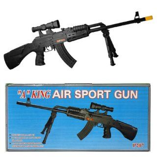 plastic model gun 1/1 scale fps 275 length 30 Sports & Outdoors