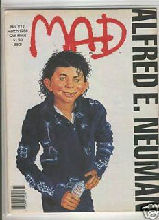 Mad Magazine  Alfred E. Neuman (no. 277    Bad!): Mad Magazine: