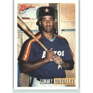 1993 Bowman #292 Jimmy Gonzalez   Houston Astros (Baseball