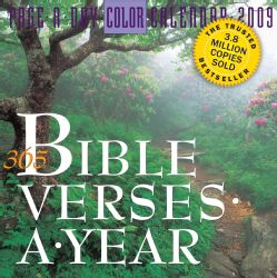 365 Bible Verses A Year 2009 Calendar
