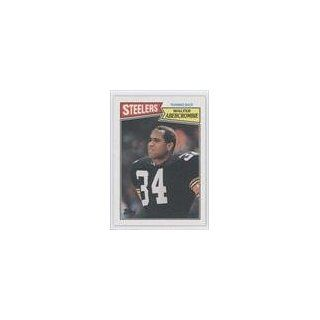 Walter Abercrombie Pittsburgh Steelers (Football Card) 1987 Topps #286