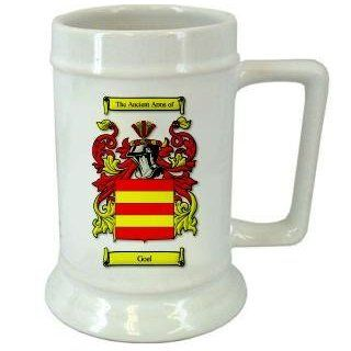 Goel Spanish Family Crest Stein / Goel Spanish Coat of