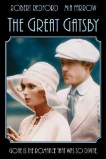 The Great Gatsby (1974): Robert Redford, Mia Farrow, Bruce