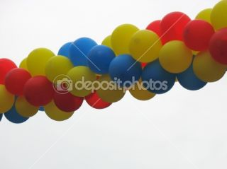Colorful birthday party balloons  Stock Photo © Alexandru Romanciuc