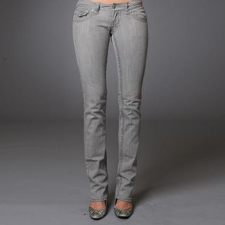 Laguna Beach Womens Manhattan Straight Leg Jeans
