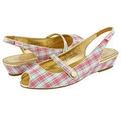 Sugar Jenny Lee Plaid With Gold Pink