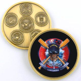 AVIATION MAINTENANCE TECHNICIAN CHALLENGE COIN YP307