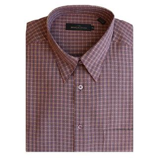 Bugatchi Uomo Mens Striped Button front Shirt