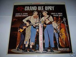 Greatest Comedy Stars of the Grand Ole Opry Homer