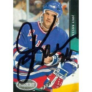Joey Kocur autographed Hockey Card (New York Rangers) 1993