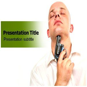 Depression Powerpoint Template   Depression Powerpoint