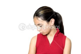 Sad girl  Foto Stock © fred goldstein #2347888