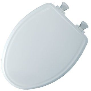 Mayfair 148E2 000 Slow Close Molded Wood Toilet Seat with Lift Off