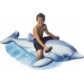 Giant Inflatable Dolphin Swimming Pool Float Toy Toys
