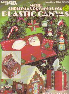 More Christmas Projects of Plastic Canvas: 20 Projects (Leaflet 194