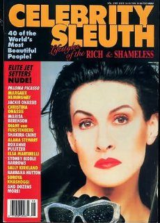 CELEBRITY SLEUTH MAGAZINE vol 2 #6 celebrity sleuth