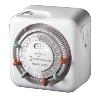 Intermatic TN311 15 Amp Heavy Duty Grounded Timer