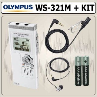 Olympus WS321M Digital Voice Recorder plus MP3 Player and