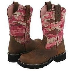 Ariat Probaby Distressed Brown/Pink Camo