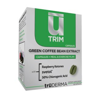 truDERMA U Trim Green Coffee Bean Extract (60 Capsules)