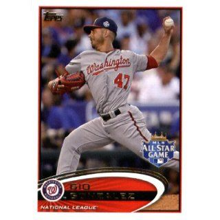 2012 Topps Update #US 326 Gio Gonzalez   Washington Nationals (All