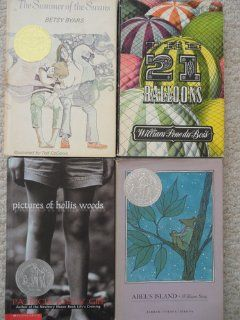 Newbery Set (Pictures of Hollis Woods ~ Abels Island ~ Twenty One
