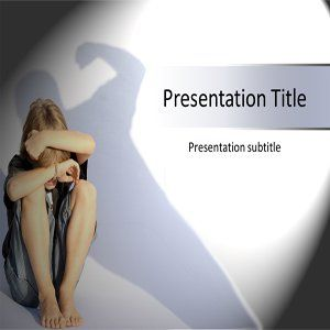 Child Abuse Powerpoint Template   Child Abuse Powerpoint