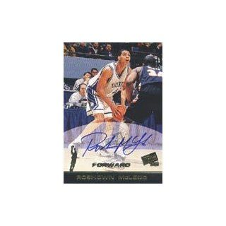 Roshown McLeod, Duke Blue Devils, 1998 Press Pass Certified Autograph