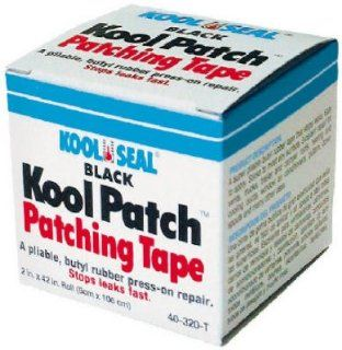 Seal 2 x 42 Roll Blk Butyl Tape 40 320 Roof Seal Tape