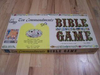 Ten Commandments Bible Game Toys & Games