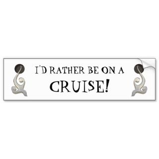 Cruise Addict Bumper Sticker