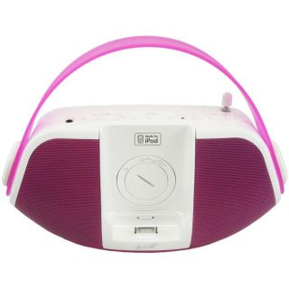 iLive IB109P iPod Portable Radio and Speaker System (Refurbished