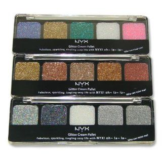 NYX Cosmetics Glitter Cream Palette Glitter Makeup For