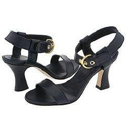 Christin Michaels Rea Navy Sandals (Size 11.5)