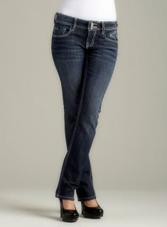 Vigoss Straight Jean With Heavy Stitching And V Ba