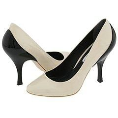Pour La Victoire Dionne Birch/Black Patent Leather Pumps/Heels
