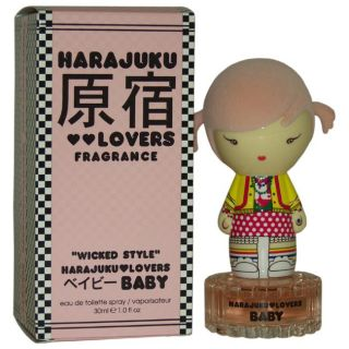 Harajuku Lovers Wicked Style Baby by Gwen Stefani for Women 1 ounce