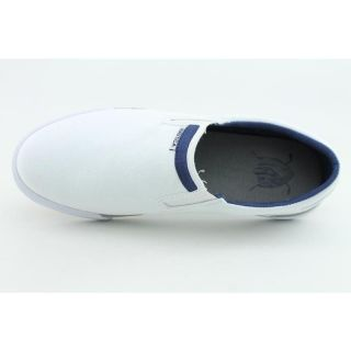 Nautica Mens Twin Gore White Casual Shoes