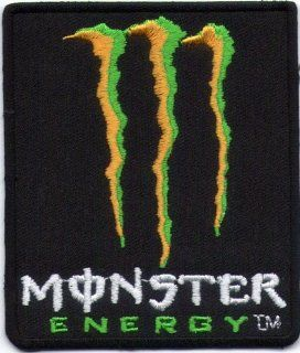 Logo Aufnäher / Iron on Patch  Monster Energy  Auto