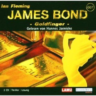 James Bond 007   Goldfinger (Gelesen von Hannes Jaenicke) [Thriller