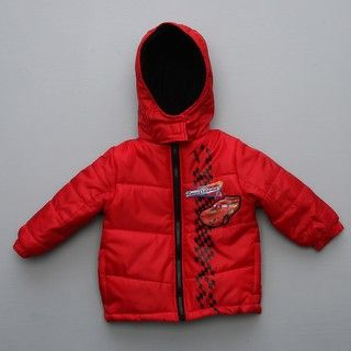 Disney Toddler Boys Cars Puffy Jacket FINAL SALE
