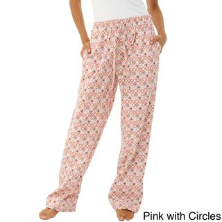 Alexander Del Rossa Womens Cotton Flannel Pajama Pants