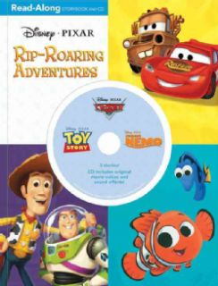 Disney/ Pixar 3 in 1 Read Along Storybook and CD (Reinforced Hardcover