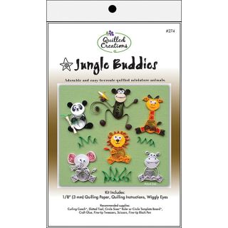 Jungle Buddies Quilling Kit