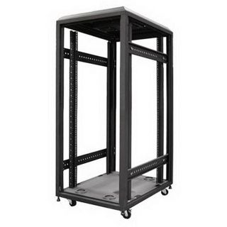 iStar 22U 4 post Open Frame Rack/ Server Cabinet