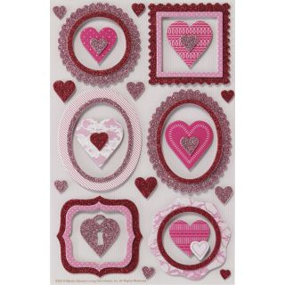 Martha Stewart Valentine Stickers Frame and Heart Today $6.89