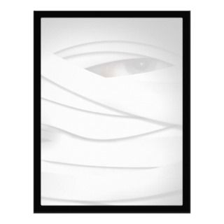 One Eyed Halloween Mummy Personalized Letterhead