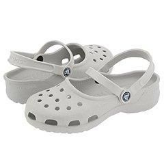 Crocs Mary Jane Pearl White