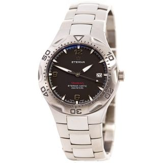 Eterna Mens Automatic Rotating Bezel Watch Model # 1610.41.40.0165